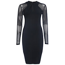 Buy French Connection Tania Dress, Black Online at johnlewis.com