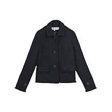 Buy Gerard Darel Birdie Jacket, Navy Blue Online at johnlewis.com