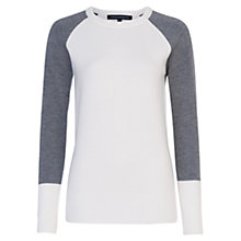 Buy French Connection Babysoft Colour Block Crew Online at johnlewis.com