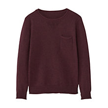 Buy Mango Kids Boys' Patch Pocket Jumper Online at johnlewis.com