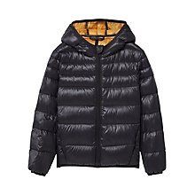 Buy Mango Kids Boys' Feather and Down Quilted Coat Online at johnlewis.com
