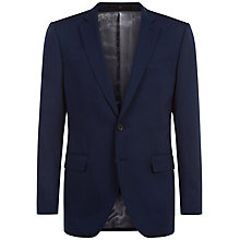 Buy Jaeger Tropical Wool Slim Suit Jacket, Navy Online at johnlewis.com