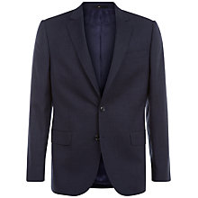 Buy Jaeger Super 130s Wool Regular Fit Suit Jacket, Navy Online at johnlewis.com