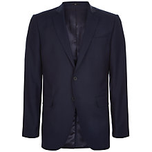 Buy Jaeger Wool Slim Fit Suit Jacket, Navy Online at johnlewis.com