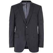 Buy Jaeger Wool Regular Fit Suit Jacket, Charcoal Online at johnlewis.com
