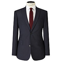 Buy Kin by John Lewis Harrison Micro Check Slim Suit Jacket, Navy Online at johnlewis.com