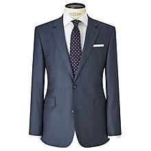 Buy John Lewis Flannel Tailored Suit Jacket, Airforce Blue Online at johnlewis.com
