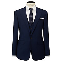 Buy John Lewis Woven in Italy Half Canvas Mohair Tonic Tailored Suit Jacket, Blue Online at johnlewis.com