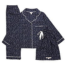 Buy Jigsaw Girls' Star Print Pyjamas Online at johnlewis.com