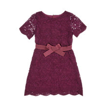 Buy Jigsaw Girls' Lace Party Dress Online at johnlewis.com