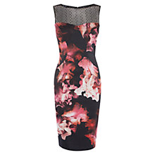 Buy Karen Millen Midnight Orchid Pencil Dress. Multicolour Online at johnlewis.com