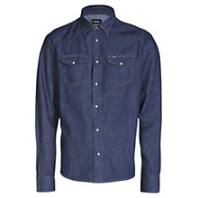 Buy Diesel Sonora-E Denim Shirt, Indigo Online at johnlewis.com