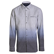 Buy Diesel S-Miramar Yarn Dyed Ombre Shirt, Peacoat Blue Online at johnlewis.com