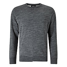 Buy Diesel S-Shins Asymmetric Centre Sweatshirt, Grey Online at johnlewis.com