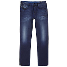 Buy Diesel Sleenker 0678Z Stretch Skinny Jeans, Grey Online at johnlewis.com