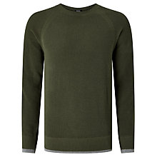 Buy Diesel K-Habana Crew Neck Jumper, Forest Night Online at johnlewis.com