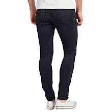 Buy Diesel Tepphar 0679R Stretch Carrot Jeans, Royal Indigo Online at johnlewis.com