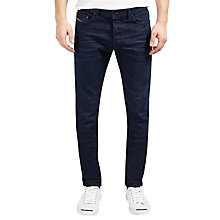 Buy Diesel Tepphar 0860Z Carrot Jeans, Dark Blue Online at johnlewis.com