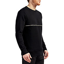 Buy Diesel S-Dry Metal-Zip Sweatshirt, Black Online at johnlewis.com