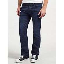 Buy Diesel Waykee Stretch Jeans, Mid Blue Online at johnlewis.com