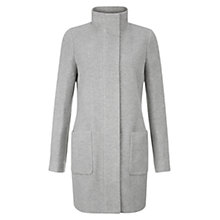 Buy Hobbs Elouise Coat, Grey Online at johnlewis.com