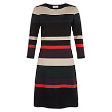 Buy Hobbs Fern Stripe Dress, Multi Online at johnlewis.com