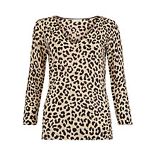 Buy Hobbs Mariah Jumper, Vanilla/Chocolate Online at johnlewis.com