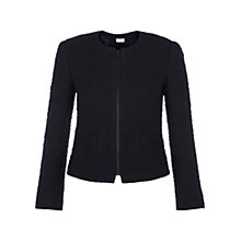 Buy Hobbs Henna Jacket, Navy Online at johnlewis.com