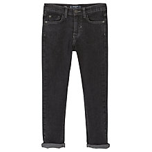 Buy Mango Kids Boys' Slim Fit Jeans, Denim Grey Online at johnlewis.com