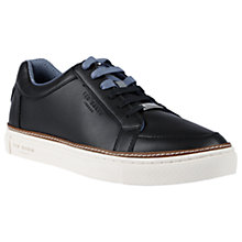 Buy Ted Baker Rouu Trainers, Black Online at johnlewis.com