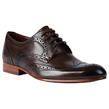 Buy Ted Baker Gryene Brogues, Brown Online at johnlewis.com