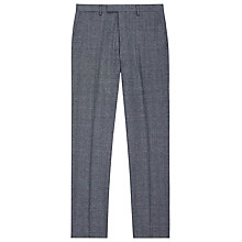 Buy Reiss Morrow Mottled Wool Slim Fit Suit Trousers, Indigo Online at johnlewis.com