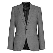 Buy Reiss Delliston Wool Mix Slim Suit Jacket, Light Grey Online at johnlewis.com