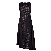 Buy Coast Malik Embroidered Dress, Black Online at johnlewis.com