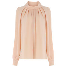 Buy Warehouse Batwing Top, Light Pink Online at johnlewis.com