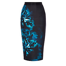 Buy Coast Shorter Length Ozar Printed Pencil Skirt, Multi Online at johnlewis.com