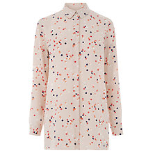 Buy Warehouse Confetti Spot Shirt, Neutral Print Online at johnlewis.com