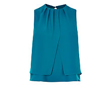 Buy Coast Demerera Top, Teal Online at johnlewis.com
