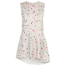 Buy Warehouse Print Confetti Spot Top, Multi Online at johnlewis.com