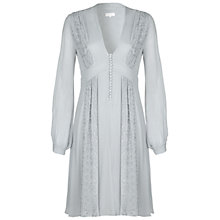 Buy Ghost Robyn Dress, Dove Grey Online at johnlewis.com