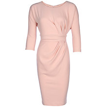 Buy Yanny London Jersey Pleat Detail Dress Online at johnlewis.com
