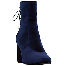 Buy Dune Octagon Block Heeled Ankle Boots Online at johnlewis.com