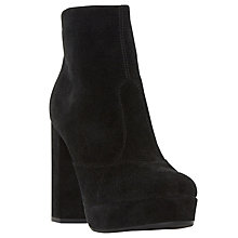 Buy Dune Oaklahoma Block Heeled Ankle Boots Online at johnlewis.com