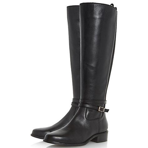 buy dune taro knee high boots lewis