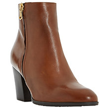 Buy Dune Panama Block Heeled Ankle Boots Online at johnlewis.com