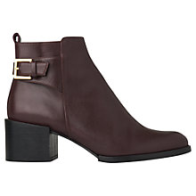 Buy Whistles Venice Mid Jodhpur Block Heel Ankle Boots Online at johnlewis.com