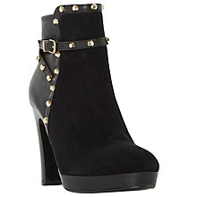Buy Dune Octavian Studded Ankle Boots, Black Online at johnlewis.com