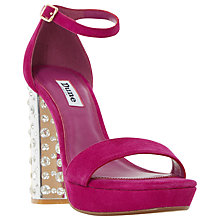 Buy Dune Mercurie Occasion Block Heeled Sandals Online at johnlewis.com