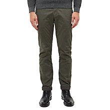 Buy Ted Baker Serny Slim Fit Chinos, Olive Online at johnlewis.com