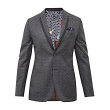 Buy Ted Baker Baldwin Blazer Jacket, Grey Online at johnlewis.com